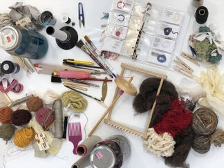 Working Artist Residency, Victoria Manganiello, installation view