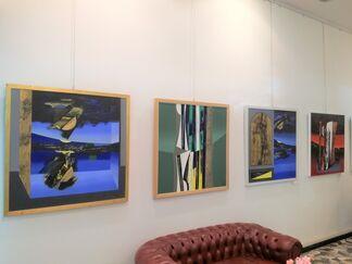 Lino Tardia | Germinare mondi, installation view