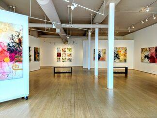 Skyfaring - new works by Allison Stewart, installation view