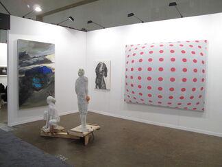 Blunt at Art Toronto 2013, installation view