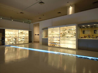 Archaeology Library, installation view