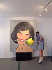 Marjorie Strider: Second International Girlie Show, installation view