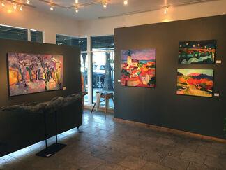 Larisa Aukon: 2018, installation view