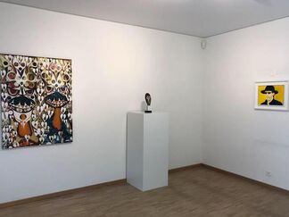 The Portrait, Curated by Jimena López & Isabella Cavalletti, installation view