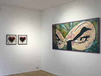 The Kiss - Masks, installation view