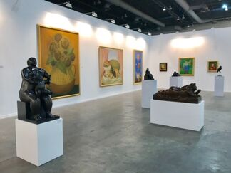 Gary Nader at ZⓈONAMACO 2018, installation view
