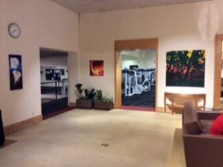 Artwork by MaryAnn Kuchera at Seattle Athletic Club, installation view