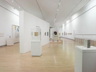 Basquiat: The Unknown Notebooks, installation view