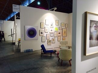 Galerie Clemens Gunzer at viennacontemporary 2015, installation view