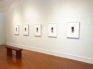 Michael Morrill: DÉJÀ VU BLUE, installation view