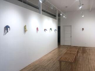 Interiors, installation view