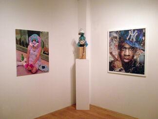 A Portrait Apart Deux, installation view