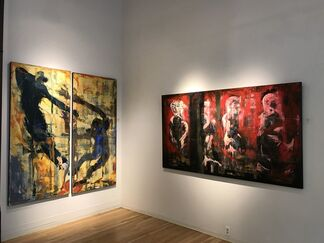 FIVE ON THE FLOOR - A Group Exhibition of Recent Contemporary Work, installation view