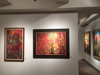The Boston Expressionists, installation view