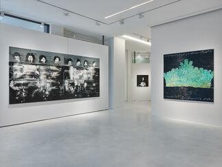 Reza Derakshani | BLACK WATER, installation view