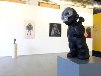Group exhibition Anne Forest, Erik Buijs and Aline Eras, installation view