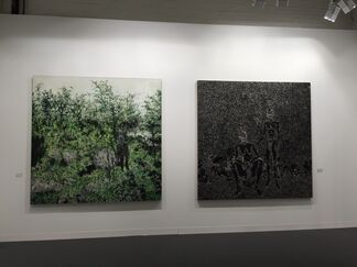 Aye Gallery at Art Basel 2015, installation view