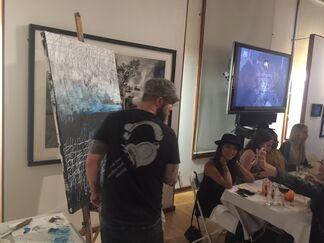 Live Art Supper Club Venice, installation view