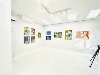 Gilles André Chalandon:  Swim This Way, installation view