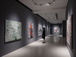 Motives of Lines: Huang Yuanqing, installation view
