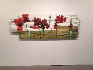 Ulrike Stadler: Tulips, installation view