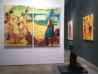 Hexton Gallery at Art Miami 2016, installation view