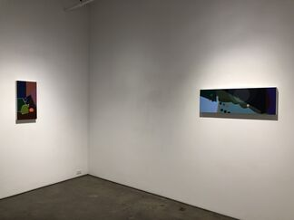 Steve Currie - Mapping Conflicting Impulses    Mario Naves - Losing The Cow, installation view