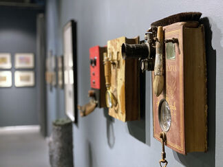 Books & Artworks, installation view