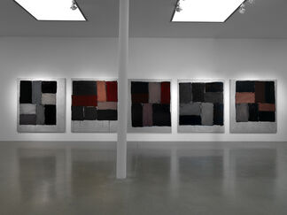 Sean Scully: Kind of Red, installation view