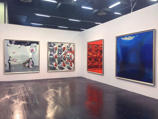 Neon Parc at Art Cologne 2015, installation view