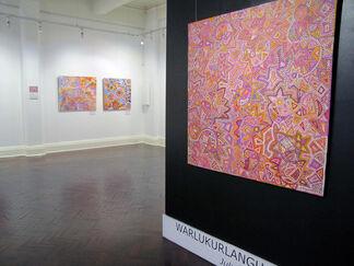 Artists of Yuendumu Warlukurlangu and Artists of Ampilatwatja, installation view