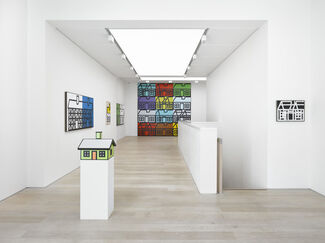 Richard Woods: The Ideal Home Exhibition, installation view