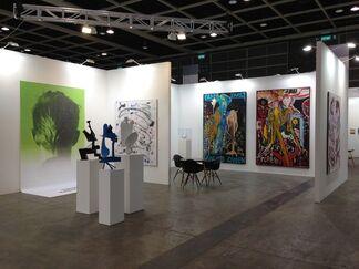 Sies + Höke at Art Basel in Hong Kong 2015, installation view