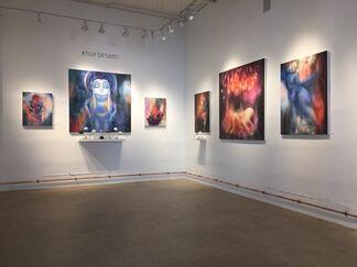Cirque Noir: Kathie Olivas, Stickymonger, and Kelly Denato, installation view