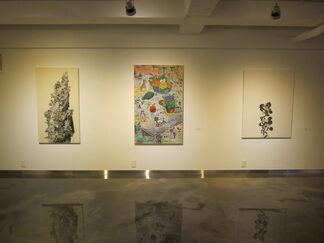 韓中繪畵交流展 - Breathing, Breath & Rest 展, installation view