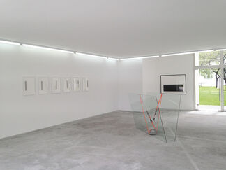 Jose Davila & Pablo Davila / Time Moves In One Direction, Memory In Another, installation view