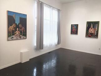 Mac Mechem: A Few Social Comments, installation view