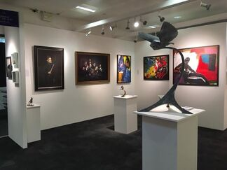 Urbane Art Gallery at London Art Fair 2018, installation view