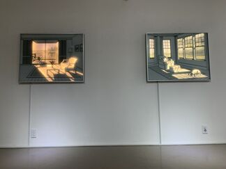 Light: A Space for drawing memory, installation view
