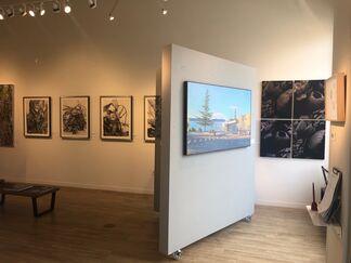 Evening Light - Willard Dixon & Frédéric Choisel, installation view