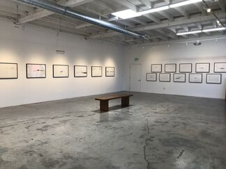 Snow Drawings, installation view