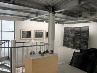 "Fujiwara Shiho ""Fusion of Sumi and Washi"", installation view"