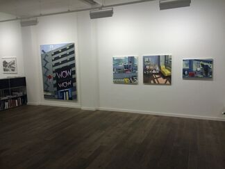 Die Hundertste, installation view
