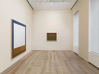 James Bishop, installation view