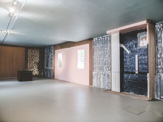 Thinking is a Form of Artistic Vehicle, installation view