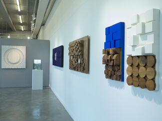 COLORS IN GEOMETRY, installation view