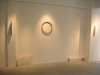 "vol.0 Masanobu Ando ""Landscape-cutting sculpture"", installation view"