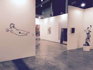 Galerie Hans Mayer at Art Basel in Hong Kong 2015, installation view