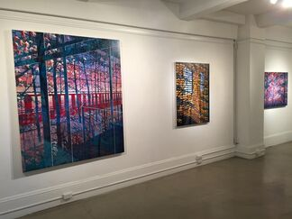 """Todd Lanam : """"Back to Isla Vista""""  - New Paintings, installation view"""