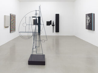 Matthias Bitzer: The Collapse of Features, installation view